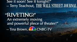 """Riveting!"" Tina Brown, CNBC TV"